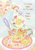 Mother's Day Card-Tea And Sunshine Card